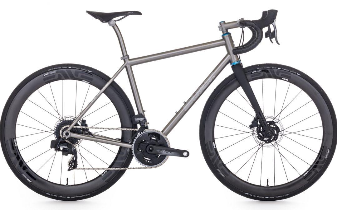Road Bike: Disc-Enve Wheelset