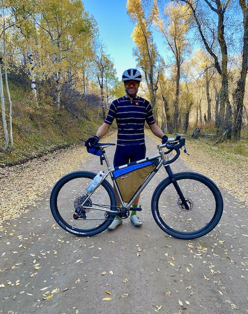 Brad Fall riding